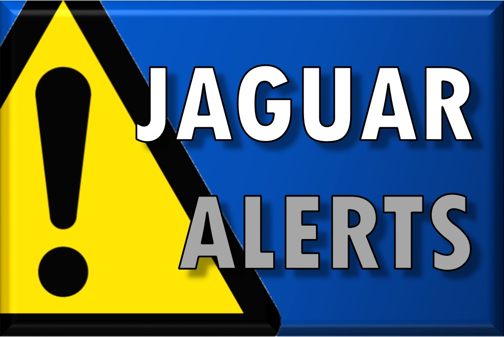 Click Here to Sign Up for Jaguar Alerts!