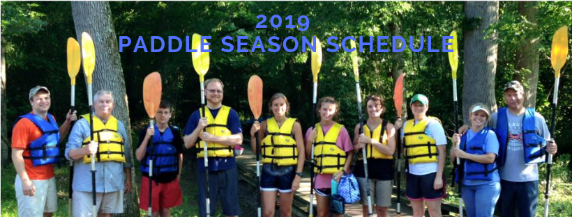 2019 Paddle Schedule