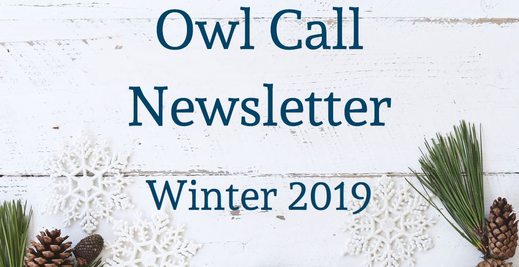 Owl Call Newsletter (PDF)