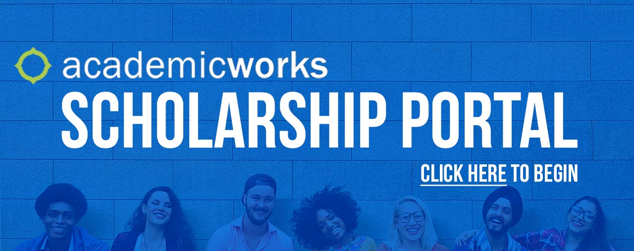 Academic Works Scholarship Portal. Click here to begin.