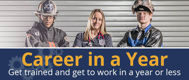 Career in a Year. Get trained and get to work in a year or less. Click here to learn more.