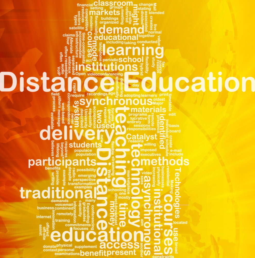 Distance Ed graphic