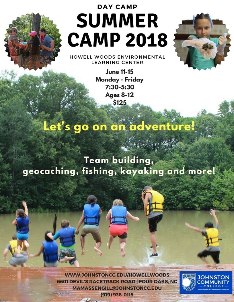 Howell Woods Day Camp Flyer