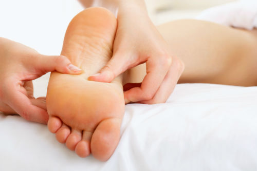 Photo of foot massage