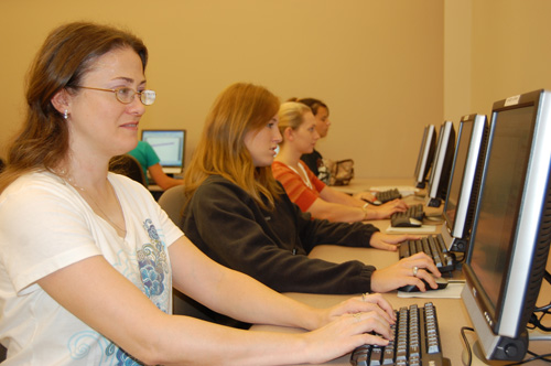 Image of Office Administration Students