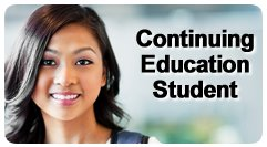 Continuing Ed student button