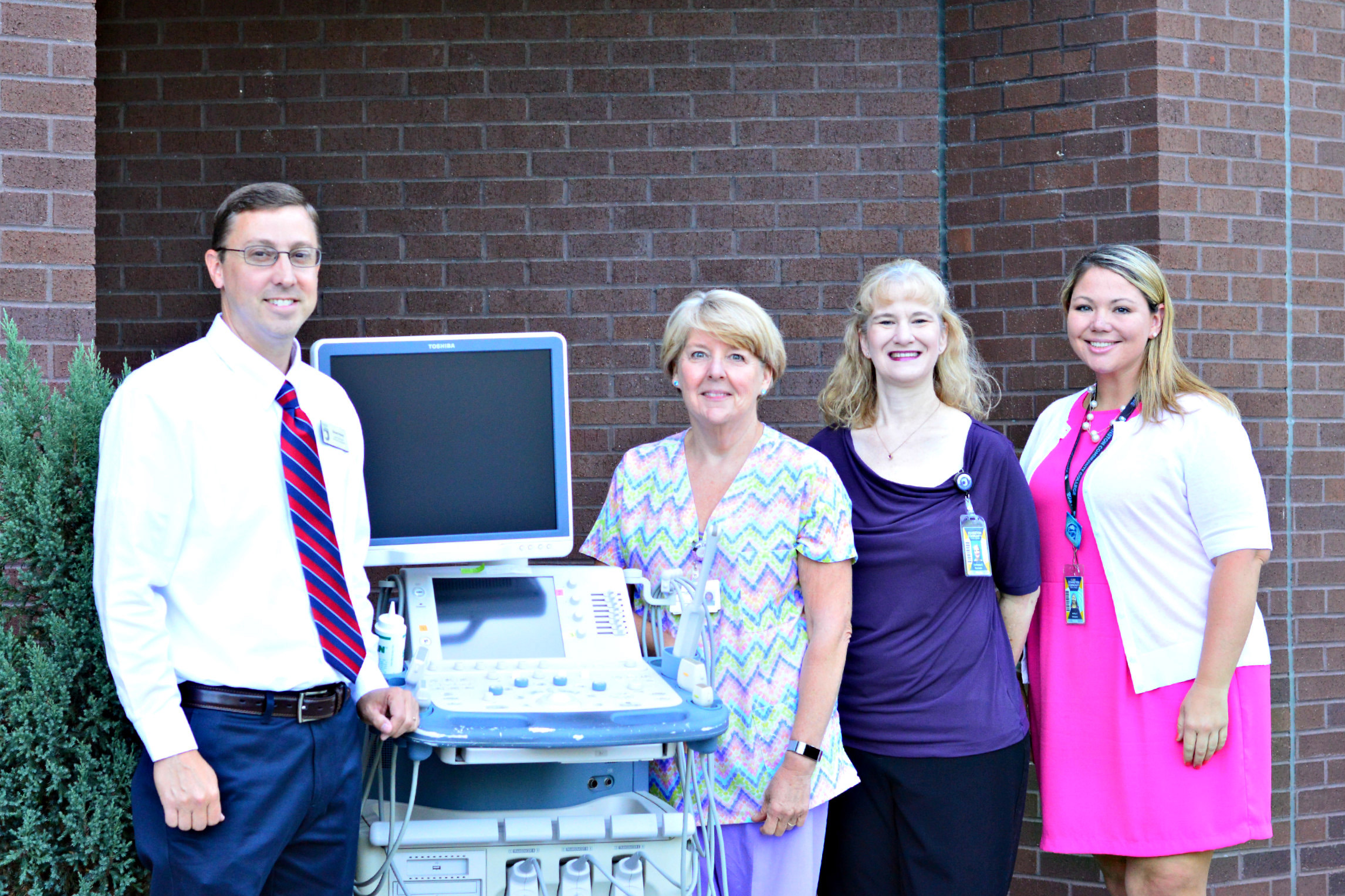 Wake Internal Medicine in Raleigh donated an ultrasound machine to JCC valued at approximately $10,000.